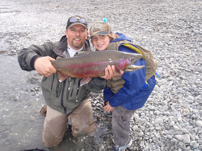 Guided Trout Fishing