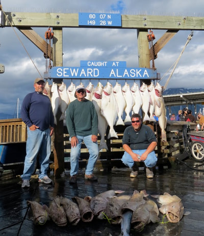 Guided Halibut Charter in Alaska